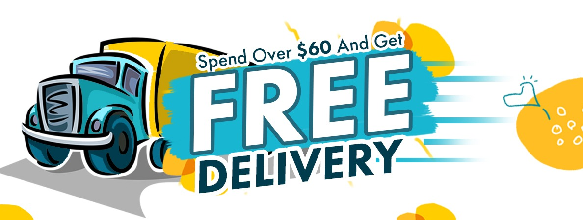 Spend over $60 and get free delivery